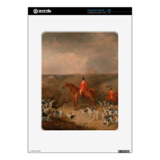 Hunting With Dogs and Horse Famous Oil Painting Skins For iPad