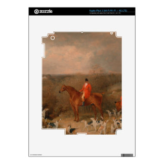 Hunting With Dogs and Horse Famous Oil Painting iPad 3 Skin