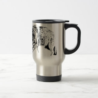 Hunting Wolf Travel Mug