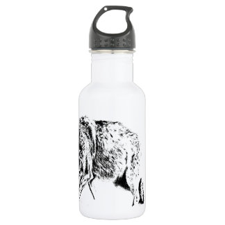 Hunting Wolf Water Bottle