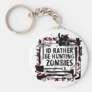 Hunting Zombies Keychain