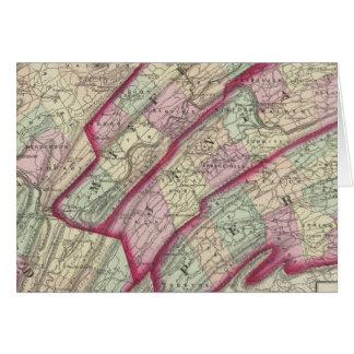 Huntingdon, Juniata, Mifflin, condados de Perry Tarjeta De Felicitación