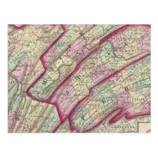 Huntingdon, Juniata, Mifflin, Perry counties Postcard