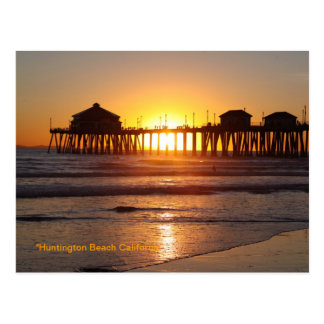 Huntington Beach Ca Postcard