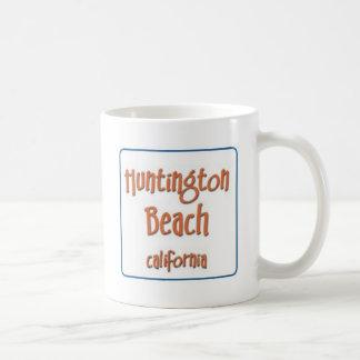 Huntington Beach California BlueBox Mugs