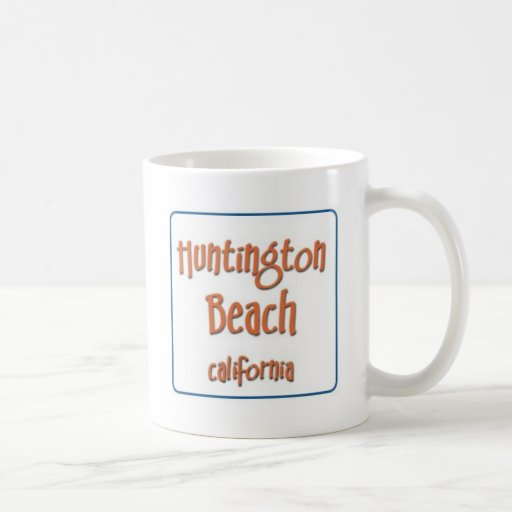 Huntington Beach California BlueBox Tazas De Café