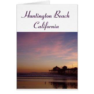 Huntington Beach California Card