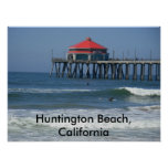 Huntington Beach, California Impresiones