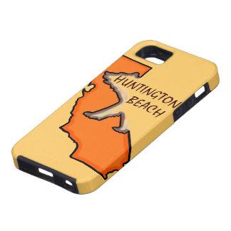 Huntington Beach California orange iphone case
