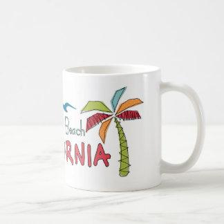 Huntington Beach California palms Coffee Mug