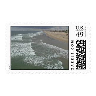 Huntington Beach California Postage Stamp