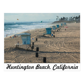 Huntington Beach, California postcard