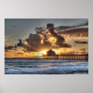 Huntington Beach California Poster
