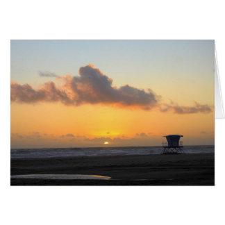 Huntington Beach, California, Sunset Card