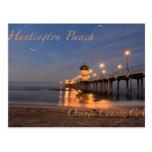 Huntington Beach California Tarjeta Postal