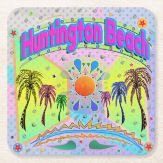 Huntington Beach Calm Desire Coaster