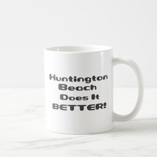 Huntington Beach mejora Taza De Café