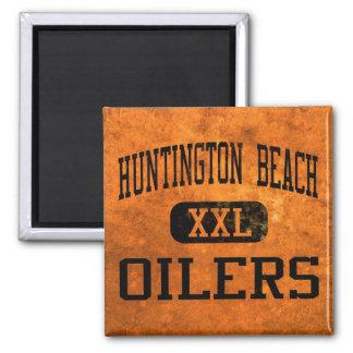 Huntington Beach Oilers Athletics 2 Inch Square Magnet
