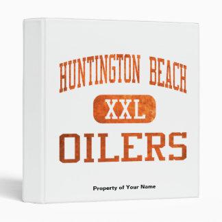 Huntington Beach Oilers Athletics 3 Ring Binder