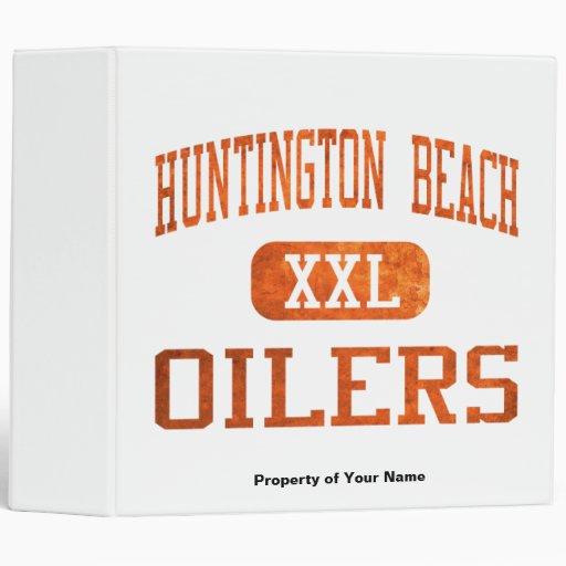 Huntington Beach Oilers Athletics 3 Ring Binders