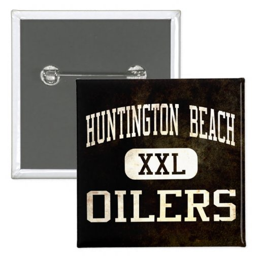 Huntington Beach Oilers Athletics Pinback Buttons