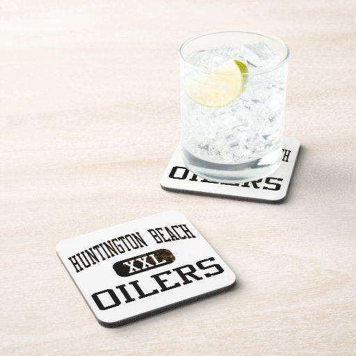 Huntington Beach Oilers Athletics Beverage Coaster