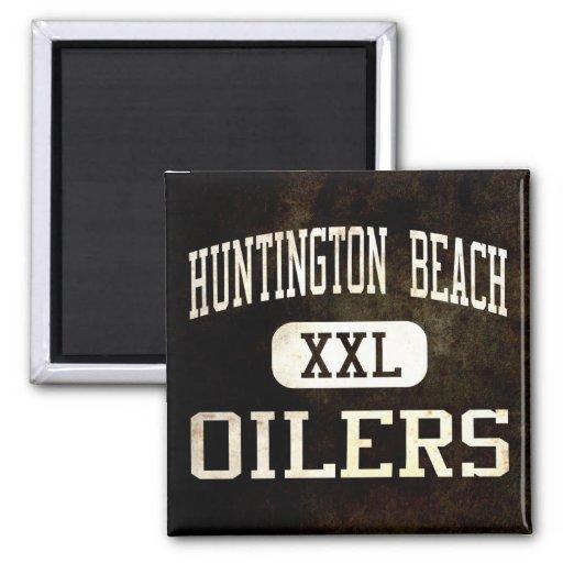 Huntington Beach Oilers Athletics Refrigerator Magnet