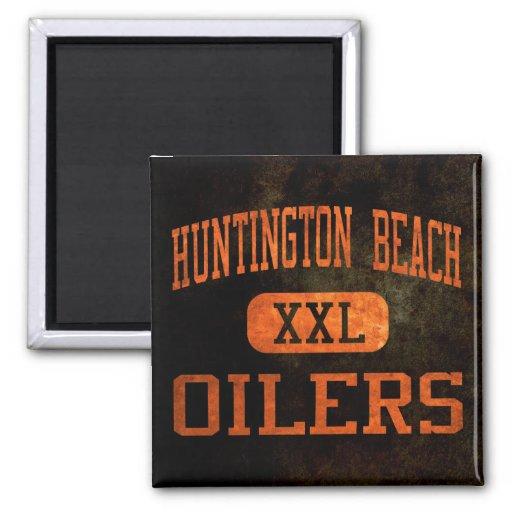 Huntington Beach Oilers Athletics Magnet