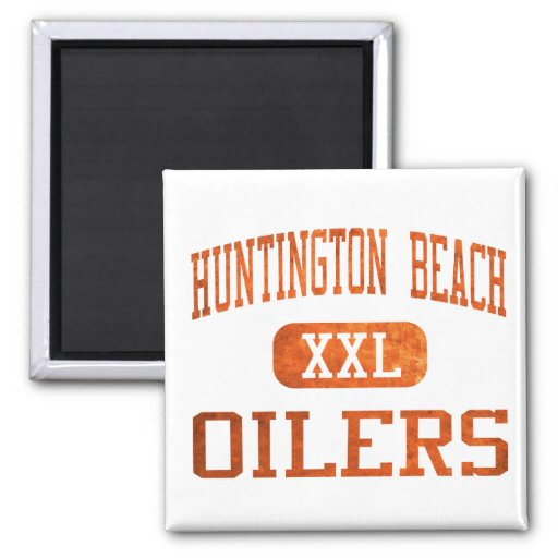 Huntington Beach Oilers Athletics Fridge Magnet