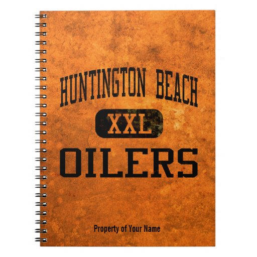 Huntington Beach Oilers Athletics Spiral Notebook