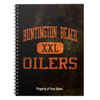 Huntington Beach Oilers Athletics Spiral Note Books