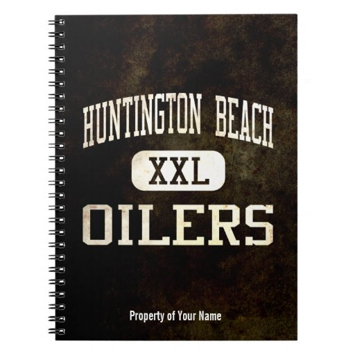 Huntington Beach Oilers Athletics Note Book
