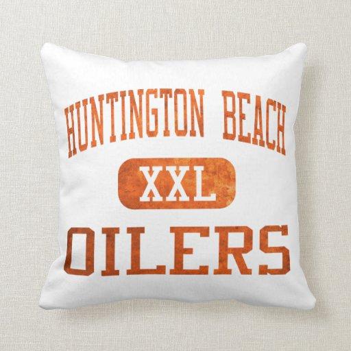 Huntington Beach Oilers Athletics Pillows