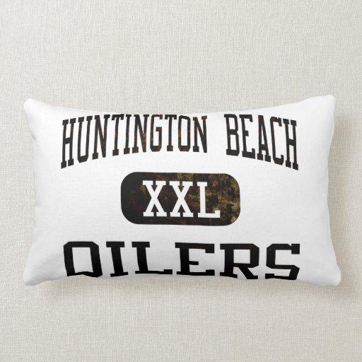 Huntington Beach Oilers Athletics Pillow