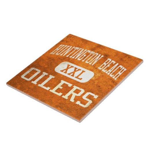 Huntington Beach Oilers Athletics Ceramic Tiles
