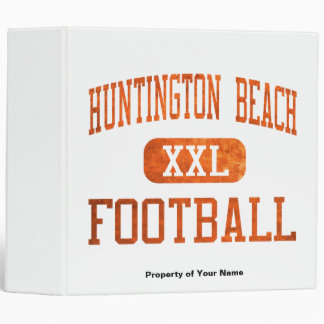 Huntington Beach Oilers Football Binder