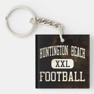 Huntington Beach Oilers Football Keychain