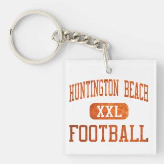 Huntington Beach Oilers Football Square Acrylic Key Chain