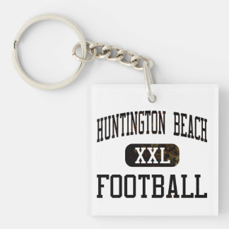 Huntington Beach Oilers Football Square Acrylic Key Chains