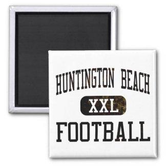 Huntington Beach Oilers Football Magnet