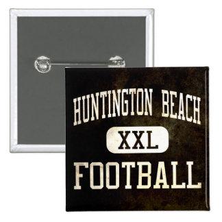 Huntington Beach Oilers Football Pinback Buttons