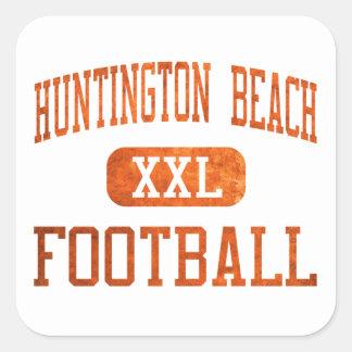 Huntington Beach Oilers Football Square Sticker