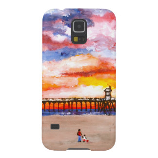 Huntington Beach Pier 2 Galaxy S5 Case