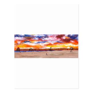 Huntington Beach Pier 2 Postcard
