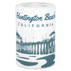 Huntington Beach Pier, California Bath Set