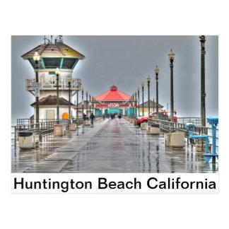 Huntington Beach Pier ' California Postcard