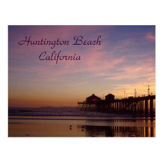 Huntington Beach Pier, California Postcard