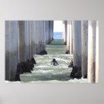 "Huntington Beach Pier "" California Print"