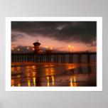 Huntington Beach Pier  California USA Posters