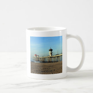 Huntington Beach Pier Coffee Mugs